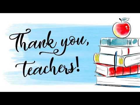 Thank you Teachers! Klein Intermediate School