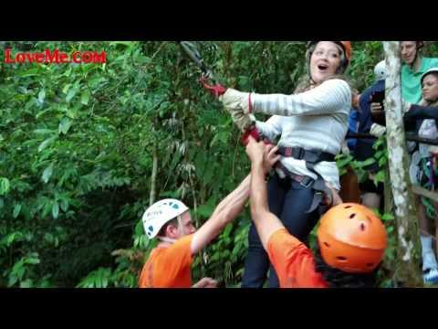 Epic Tree Swing in Costa Rica Jungle - Social Travel Latin America