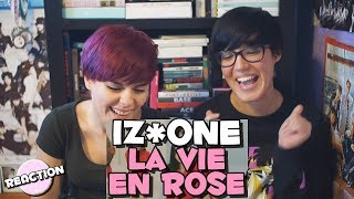 Video IZ*ONE (아이즈원) - LA VIE EN ROSE (라비앙로즈) ★ MV REACTION download MP3, 3GP, MP4, WEBM, AVI, FLV November 2018