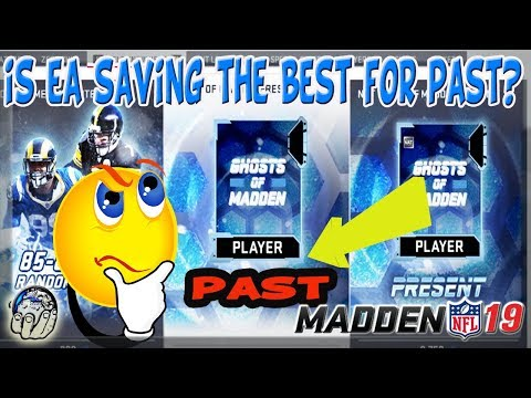 EA is Saving the BEST for LAST with GHOST OF CHRISTMAS PAST! Madden 19 Ultimate Team