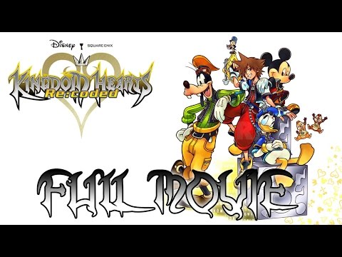 Kingdom Hearts HD 2.5 ReMIX - RE:CODED All Cutscenes MOVIE (English) @ 1080p HD ✔