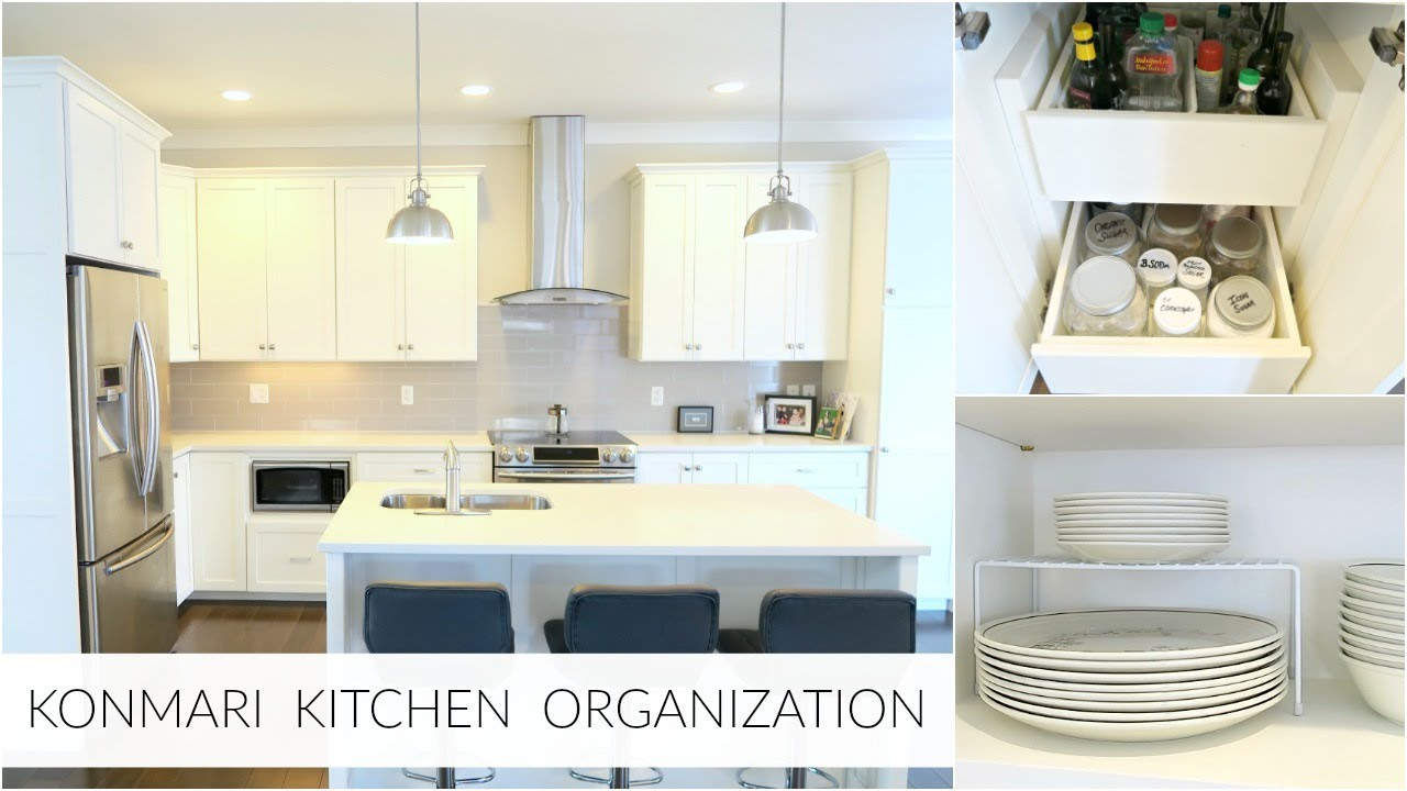 Konmari Method Simple Kitchen Organization Inspiration 2018 Youtube
