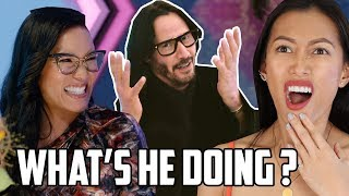 Always Be My Maybe Trailer Reaction | Keanu Reeves vs Ali Wong In NSFW Lovefest On Netflix