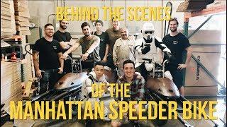 STAR WARS SPEEDERS IN NEW YORK  The Speeder Build