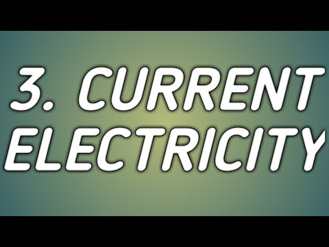 Current Electricity : Science 9th standard ( state board )
