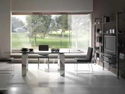 Mesas de comedor modernas youtube for Comedores minimalistas de cristal
