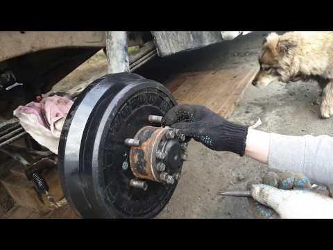 Замена Тормозных Колодок Барабанных Тормозов На УАЗ Патриот