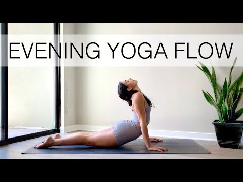 20 Minute Evening Yoga Flow   Daily Routine To Relax & Unwind