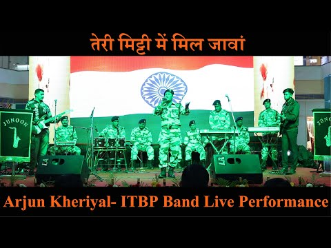 Teri Mitti by ITBP Arjun Kheriyal | RJ Kaavya | Live Performance | Red FM