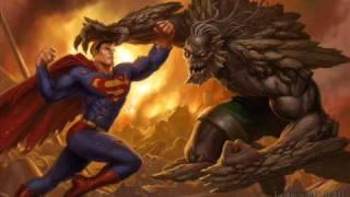 Superman vs. Doomsday; Redtown and Goku?
