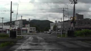旧住友赤平炭砿立坑付近~赤平駅