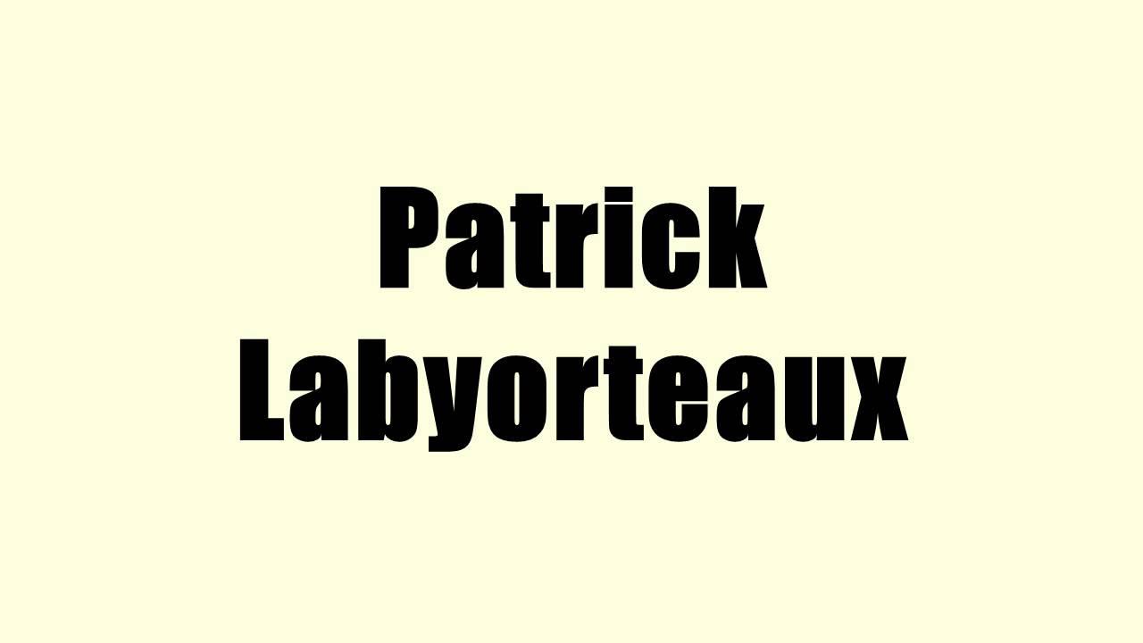 Patrick labyorteaux youtube for Patrick labyorteaux