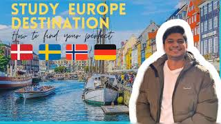Study Abroad for Indians| Study in Best European countries from India| Full Video coming Soon