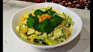Простой салат на скорую руку. Вкусный рецепт салата за 5 минут