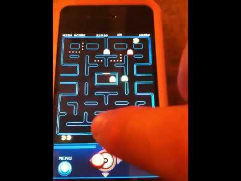 Pac Man App Gameplay ( IPad / IOS/ IPhone )