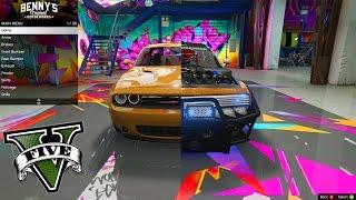 O MELHOR MOD DE CARRO CUSTOMIZÁVEL DO GTA 5?! #1 (DODGE CHALLENGER R/T) GTA V PC MODS
