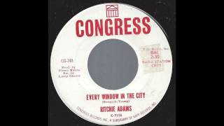 Gambar cover Ritchie Adams - Every Window In The City - '65 Pop Soul
