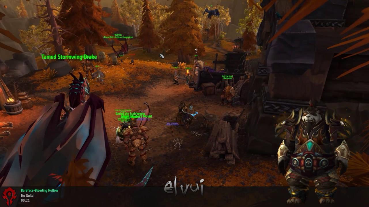 1440p 144hz World Of Warcraft goodness