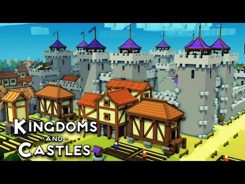 Can We Survive!?  (Kingdoms and Castles Alpha 3 Gameplay)