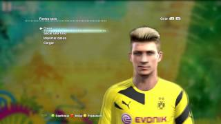 NEW FACE & HAIR MARCO REUS + FACEPACK + MOD TATUAJES 2014 2015  PES 2013   DESCARGA Thumbnail