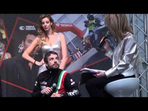 Marco Melandri Sylvain Guintoli Piloti Aprilia Superbike Motodays 2014 - Video Intervista