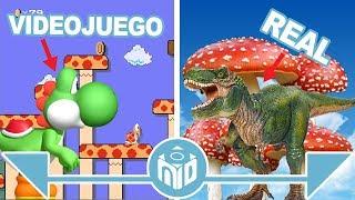 Personajes de Super Mario Bros en la VIDA REAL | N Deluxe