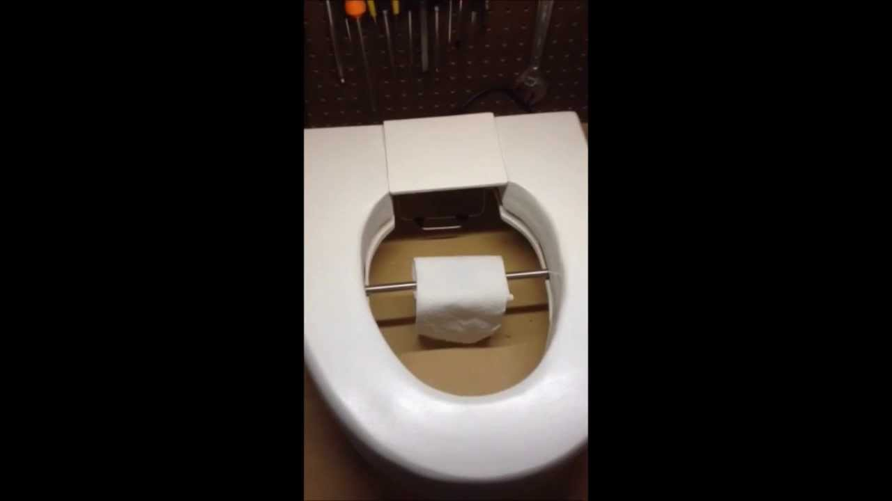 Toilet Seat That Wipes Your Bum Youtube