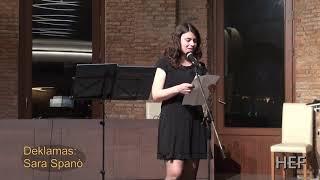 Dank' al vi - Sara Spanò - 6a Vivu la teatro!