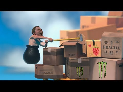 Getting Over It - But Everytime Bulldog Loses Progress He Loses His Mind