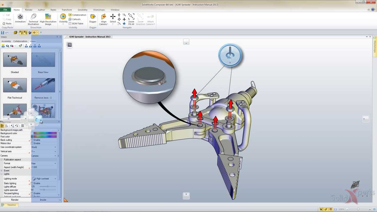 solidworks composer customizable user interface september 2013 rh youtube com solidworks 2013 manual solidworks 2015 manual