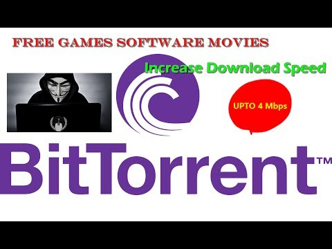 How To Download Free Pc Games | Movies Using BiTtorrent On Windows High Speed Upto 4Mbps 100%working
