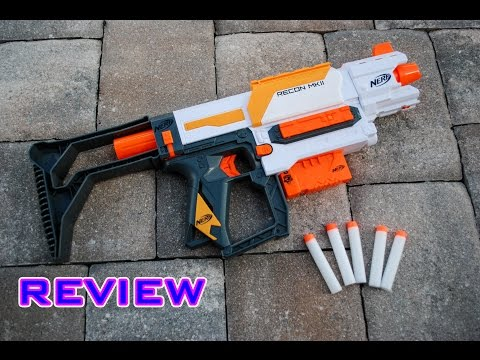[REVIEW] Nerf Modulus Recon MKII Unboxing, Review, & Firing Test