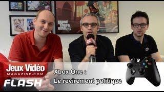 [JVM Flash] Xbox One : Le revirement politique