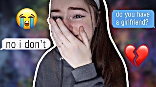 CATFISHING MY BOYFRIEND TO SEE IF HE CHEATS (he made me cry...)