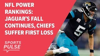NFL power rankings: Jaguar's fall continues, Chiefs suffer first loss
