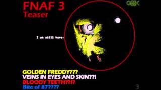 Картинки по игре Five nights at Freddys 3