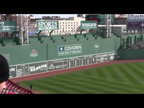 Take a Tour of Fenway Park!  100 Years of History with ACISN!