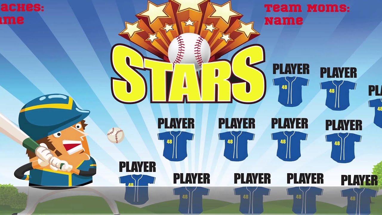softball team banners softball banner ideas part 4 youtube
