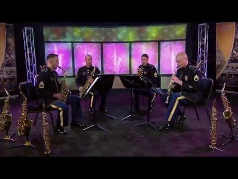 Introduction Et Variations Sur Une Ronde Populaire - Saxophone Quartet