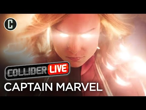 Captain Marvel Trailer Review & What It Means for the MCU - Collider Live #13