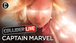 Captain Marvel Trailer Review & What It Means for the MCU - Collider Live #13 thumbnail
