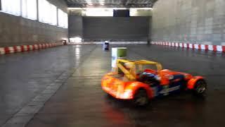 Show de Drifting del AutoRacing, Madrid Arena.