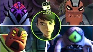 Ben 10: Alien Force All Bosses | Final Boss (PS2, PSP, Wii)