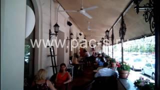 видео туман-охлаждение для летних кафе
