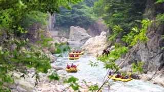 ラフティング みなかみ CANYONS Summer Rafting