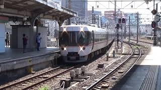 【終着駅到着】中央本線 383系 特急しなの4号名古屋行き 名古屋駅