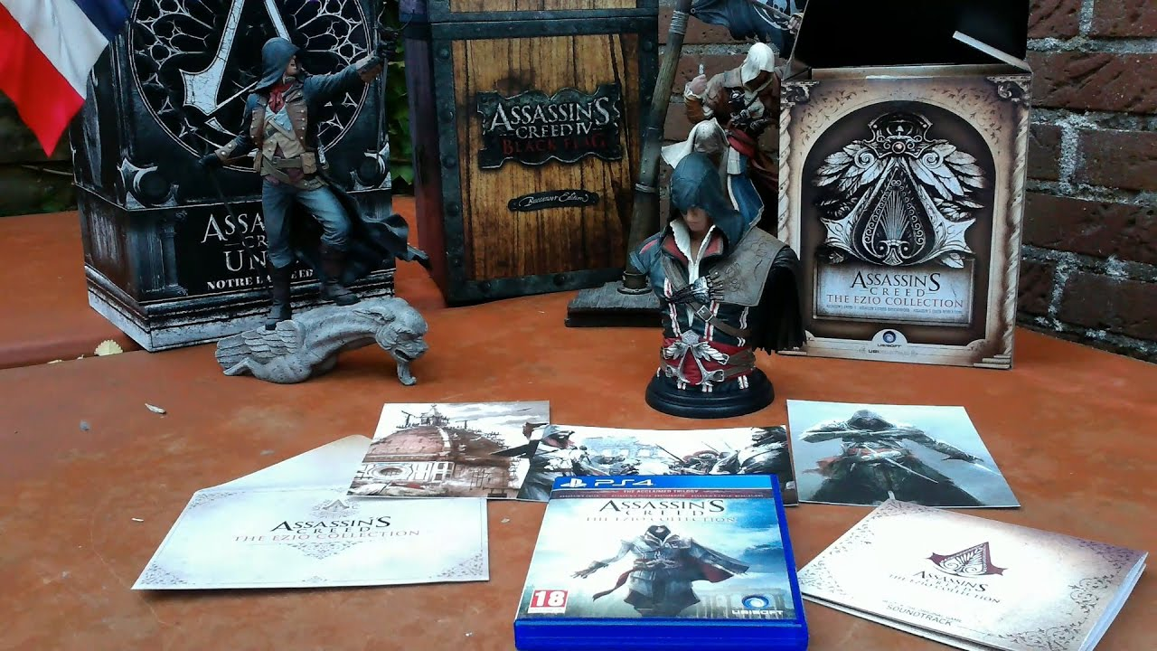 Assassin S Creed The Ezio Collection Collector S Case Unboxing Youtube