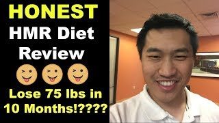HMR Diet Review: BEST Fast Weight Loss Diet!? 75 lbs in 10 months!?