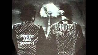 The Perukers - Protest and Survive EP (hardcore punk Sweden)