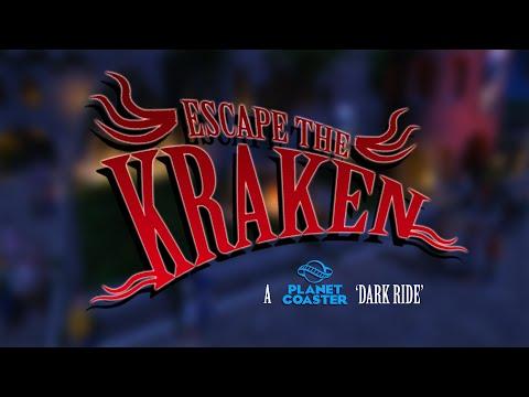Escape The Kraken - A Planet Coaster Dark Ride
